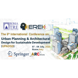 International Conference on Urban Planning & Architectural Design for Sustainable Development